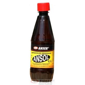 Ansol - Rozpuszczalnik do rozcieńczania farb i lakierów olejnych Anser