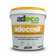 Tynk silikonowy Adeco Adecosil
