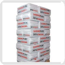 Wełna celulozowa - wdmuchiwany materiał izolacyjny Thermofloc