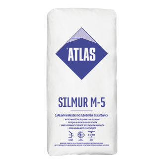 Zaprawa Murarska Atlas Silmur M-5
