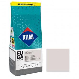 ATLAS FUGA CERAMICZNA 202 Popielaty 2kg
