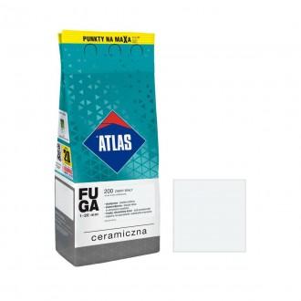 Fuga ceramiczna Atlas 200 zimny biały 2kg