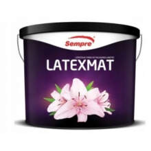 Farba Sempre lateksowa wewnętrzna LATEXMAT 5l