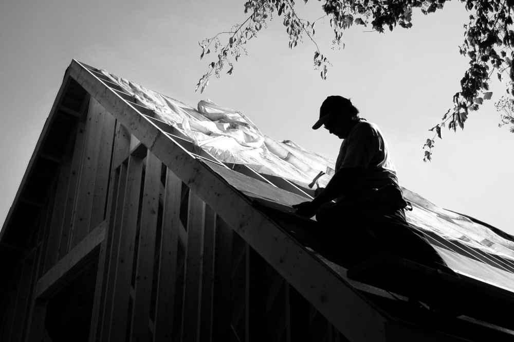dach przed kryciem blachą