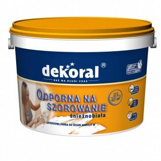 Farba Lateksowa do malowania wnętrz Dekoral Akrylit